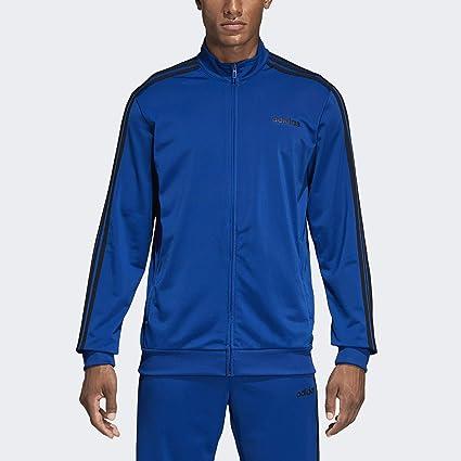 adidas Herren Athletics Essentials 3 Stripes Tricot Track