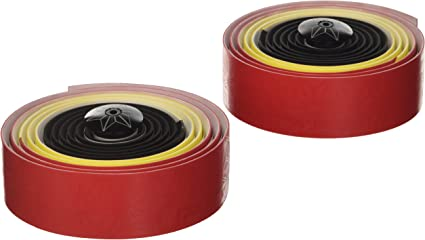 Supacaz Bicycle Super Sticky Kush Handlebar Tape Red Print Galaxy