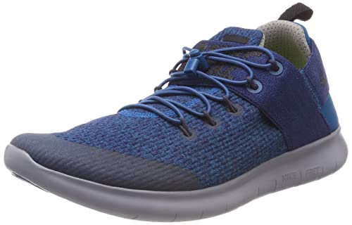 new products 3a588 823ea Nike Free RN Commuter 2017 Premium, Scarpe Running Donna, Blu (Green Abyss/