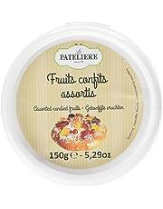 LA PATELIERE Fruits Confits Assortis 150 g - Lot de 4