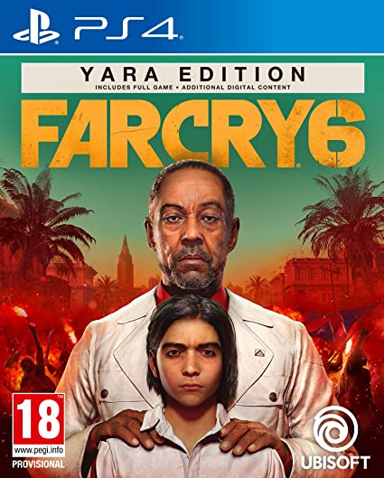 Far Cry 6 Yara Edition Ps4 Amazon In Video Games