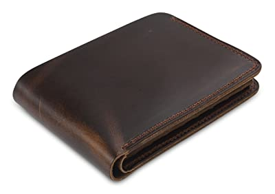 Secret Felicity Men's Genuine Leather Bifold Wallet