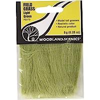 Woodland Scenics Field Grass, Light Green WOOFG173