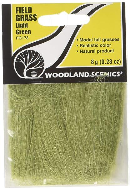 F173 WOODLAND SCENICS FIELD GRASS LIGHT GREEN