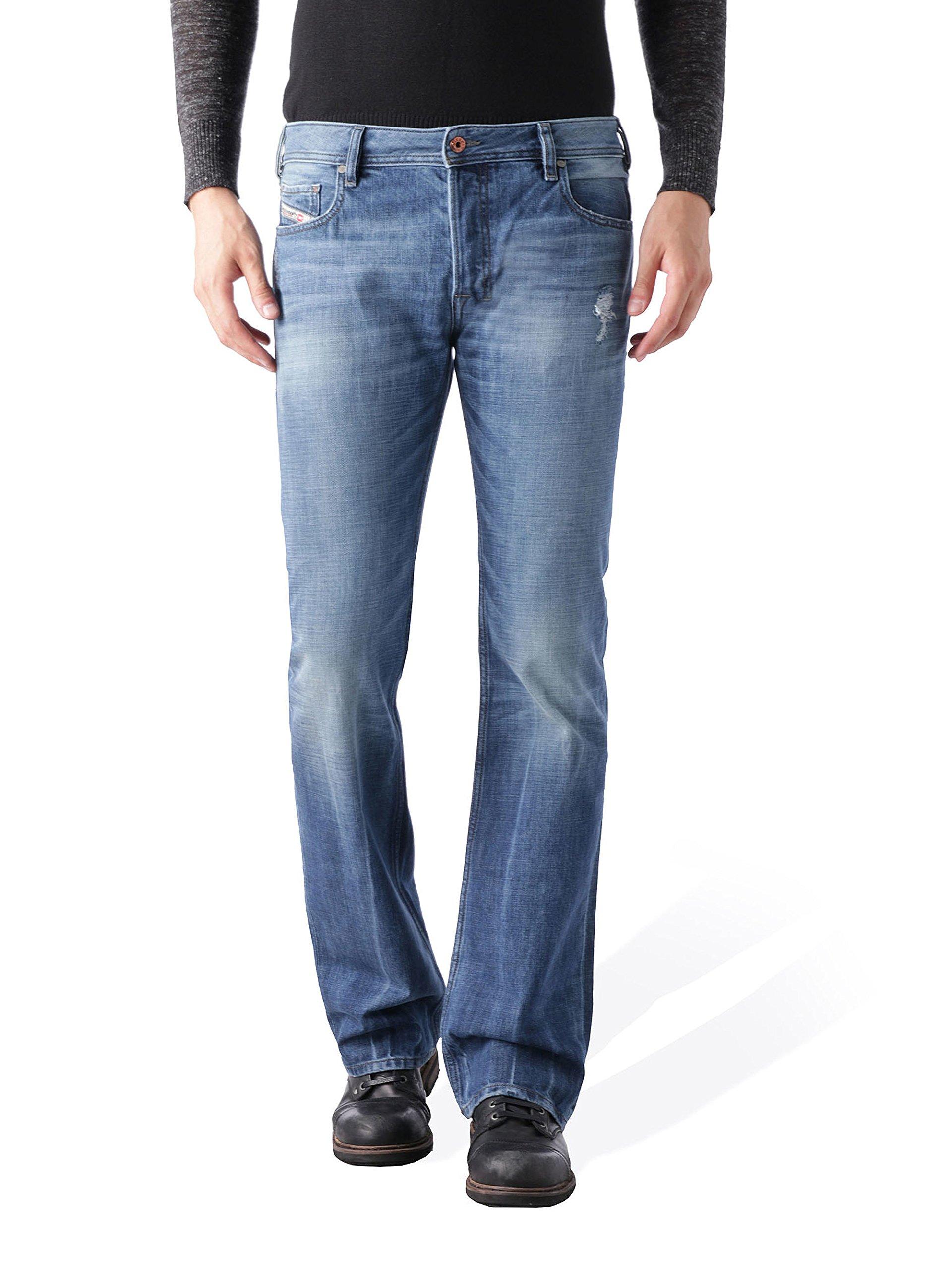 Diesel Men's Zatiny Slim Micro-Bootcut Jean  0UB89, Denim, 30x32