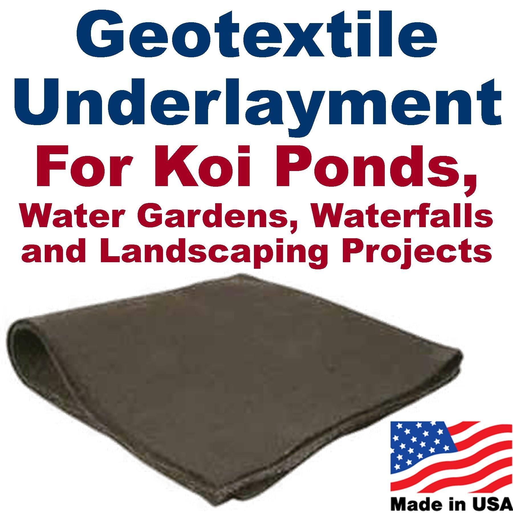 20' x 30' Geotextile Underlayment & Landscape Fabric