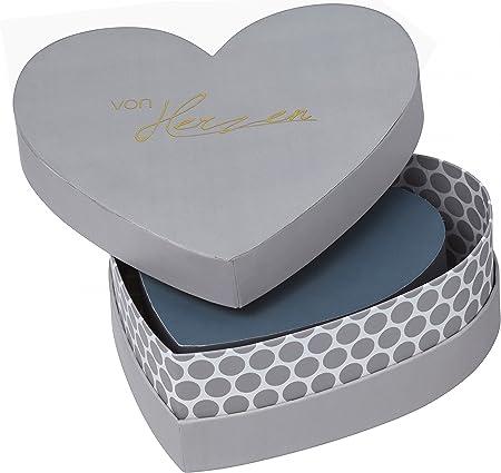 Ruedas – Corazón Stücke – Corazón caja – regalo del paquete – Caja decorativa – forma de corazón – 3 Unidades: Amazon.es: Hogar