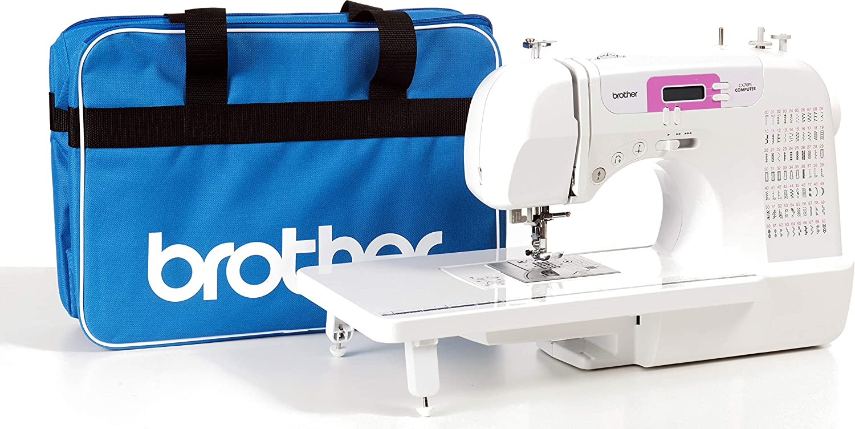 Brother CX70PE (Patchwork Edition) - Máquina de coser electrónica con 70 puntadas de costura (útiles, elásticas, decorativas), costura Automática, Display multifunci