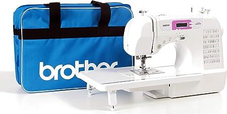 Brother CX70PE (Patchwork Edition) - Máquina de coser electrónica con 70 puntadas de costura (útiles, elásticas ...