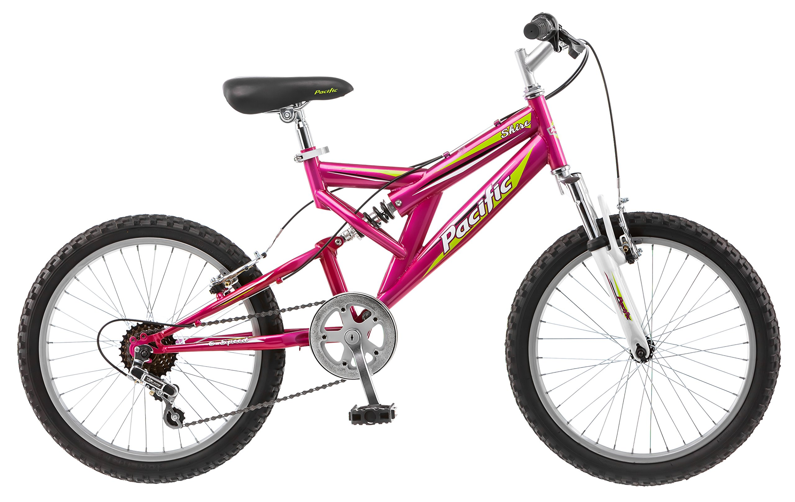 Pacific Girl's Shire Mountain Bike, 12 inch / One Size