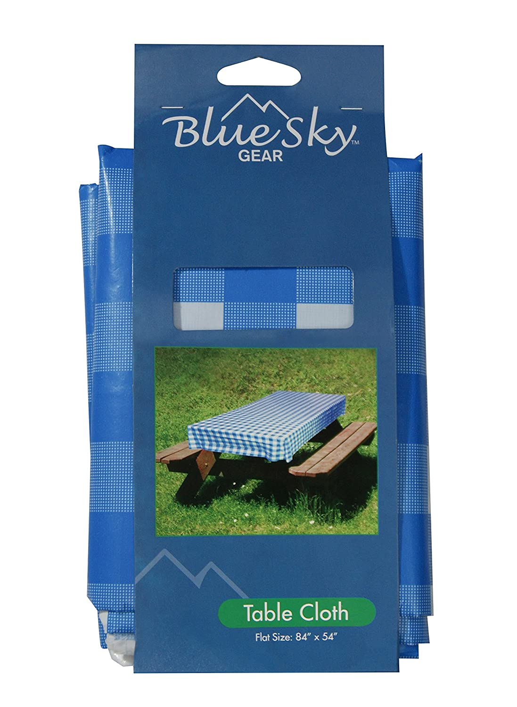 Amazon.com: Blue Sky Gear Table Cloth, Blue: Sports & Outdoors