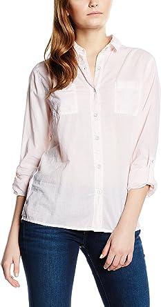 Pepe Jeans London Camisa Mujer Noli Rosa Claro M: Amazon.es: Ropa y accesorios