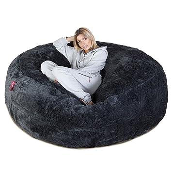 Lounge Pug Mega Mammoth Sofa Sitzsack Xxl Schlafsofa Kunstfell