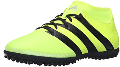 adidas Originals Men's Ace 16.3 Primemesh TF Soccer Shoe, Solar Yellow/Black /Metallic
