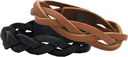 Leather bracelet blanks 15 Pack 8 oz Natural Brown 1 inch X 7 to 11 inch