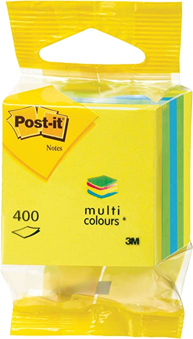 32 opinioni per Post-it- Cubo di 400 foglietti post-it mini, dimensioni 51 x 51 mm