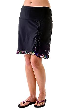 e823de92879bb Amazon.com  HydroChic Women s Sporty Swim Skirt
