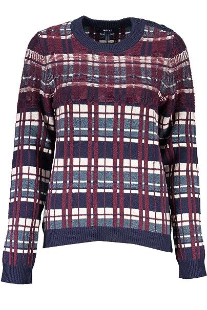 Maglione Gant 488005 413 S it Abbigliamento Blu 1403 Donna Amazon RFxwTEx
