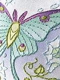 Luna Moth Moon Beginner Hand Embroidery Sampler