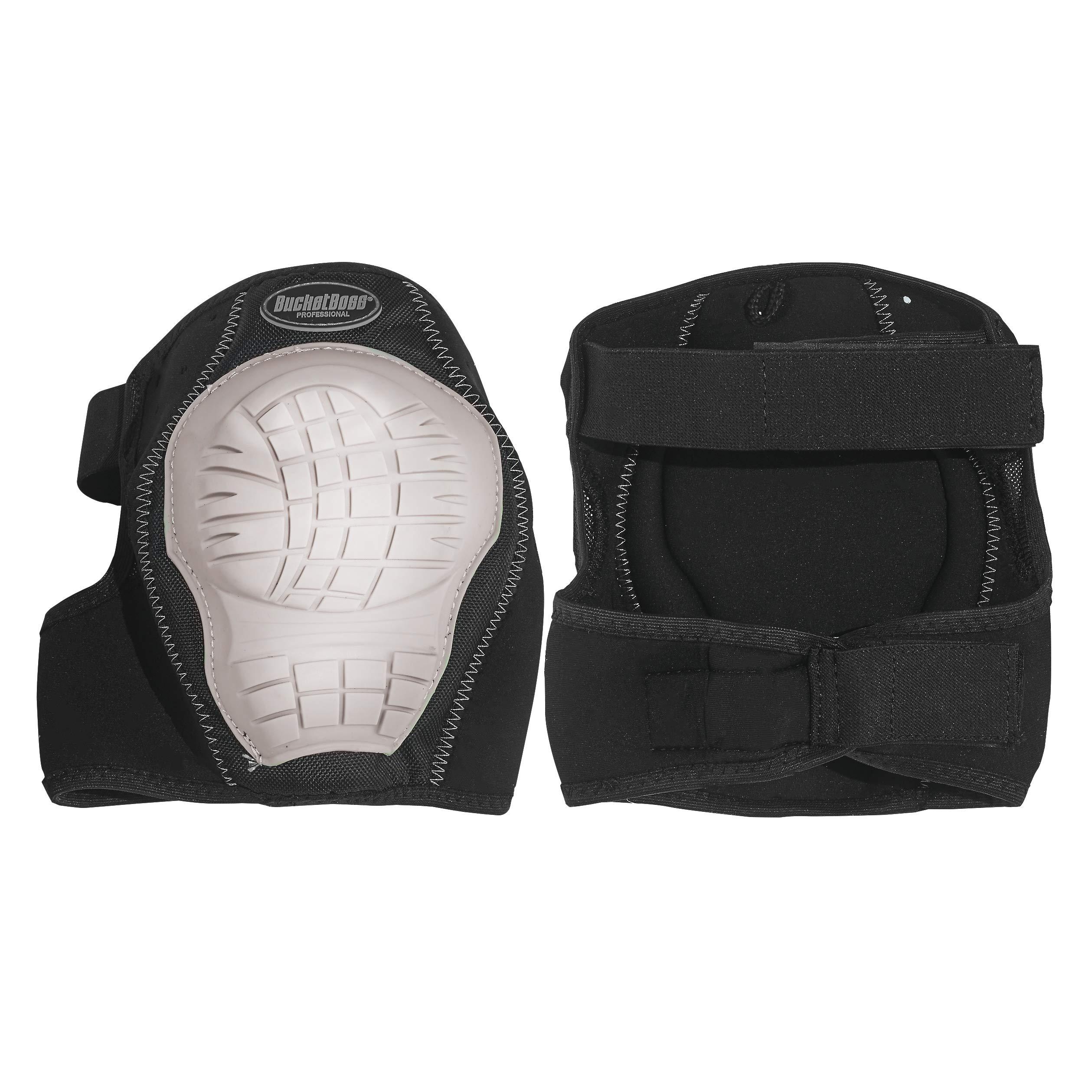 Bucket Boss NeoFlex Soft Shell Knee Pads in White, 92200 by Bucket Boss