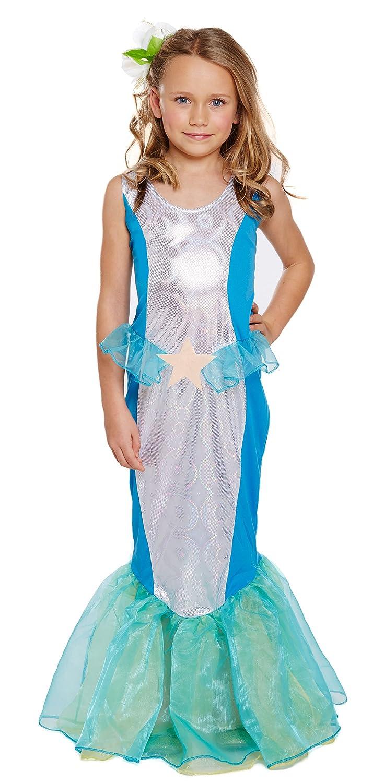 Girls Kids Little Mermaid World Book Day Fancy Dress Costume All ...