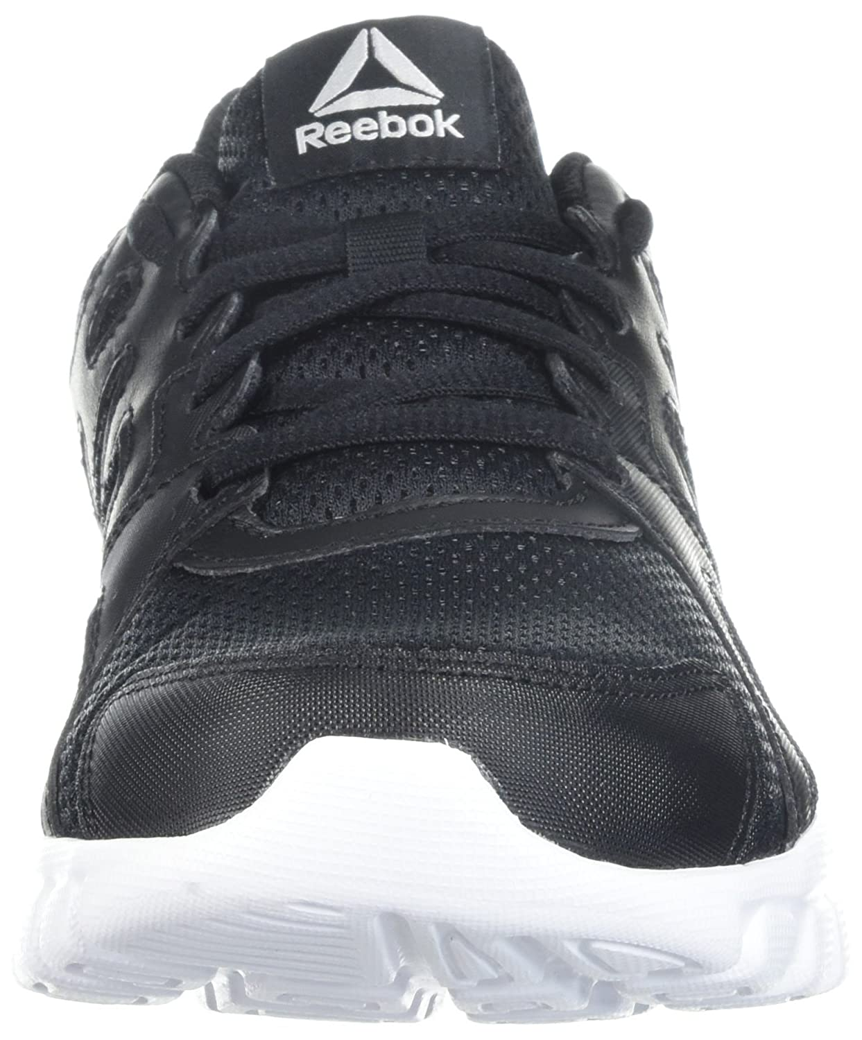 8fede539afc Reebok Trainfusion Nine 3.0 Cross Trainer para mujeres Negro   Blanco    Plata
