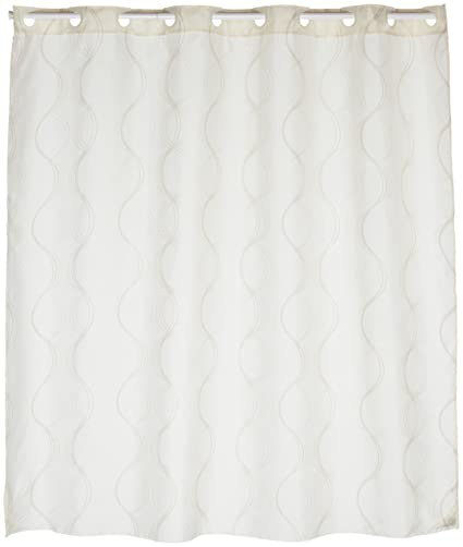 Carnation Home Fashions EZ On Fabric Shower Curtain Bristol 70quot