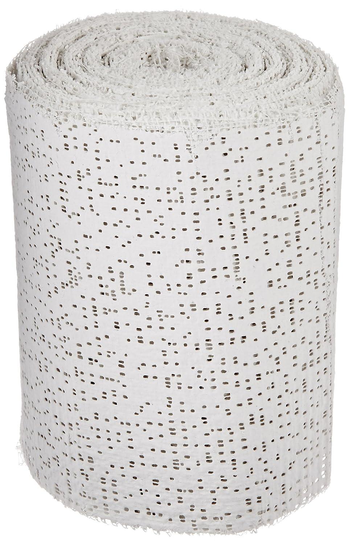 Sax Professional Plaster Wrap Roll, 4 Inch x 180 Feet, White, 20 Rolls School Specialty 469316