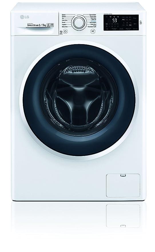 LG Electronics F 14WD 85EN0 Waschtrockner / A / 1078 kWh/Jahr / 1400 UpM / 8 Kg / 11200 liter/jahr / Digitaldisplay mit Restz