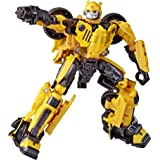 Transformers Toys Studio Series 57 Deluxe Class Bumblebee Movie Offroad Bumblebee Action Figure – Adults and Kids Ages 8 and
