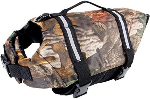 Camo-Pet-Life-Preserver-Jacket,Camouflage-Dog-Life-Vest