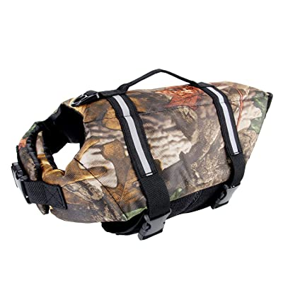 Camo Pet Life Preserver Jacket,Camouflage Dog Life Vest