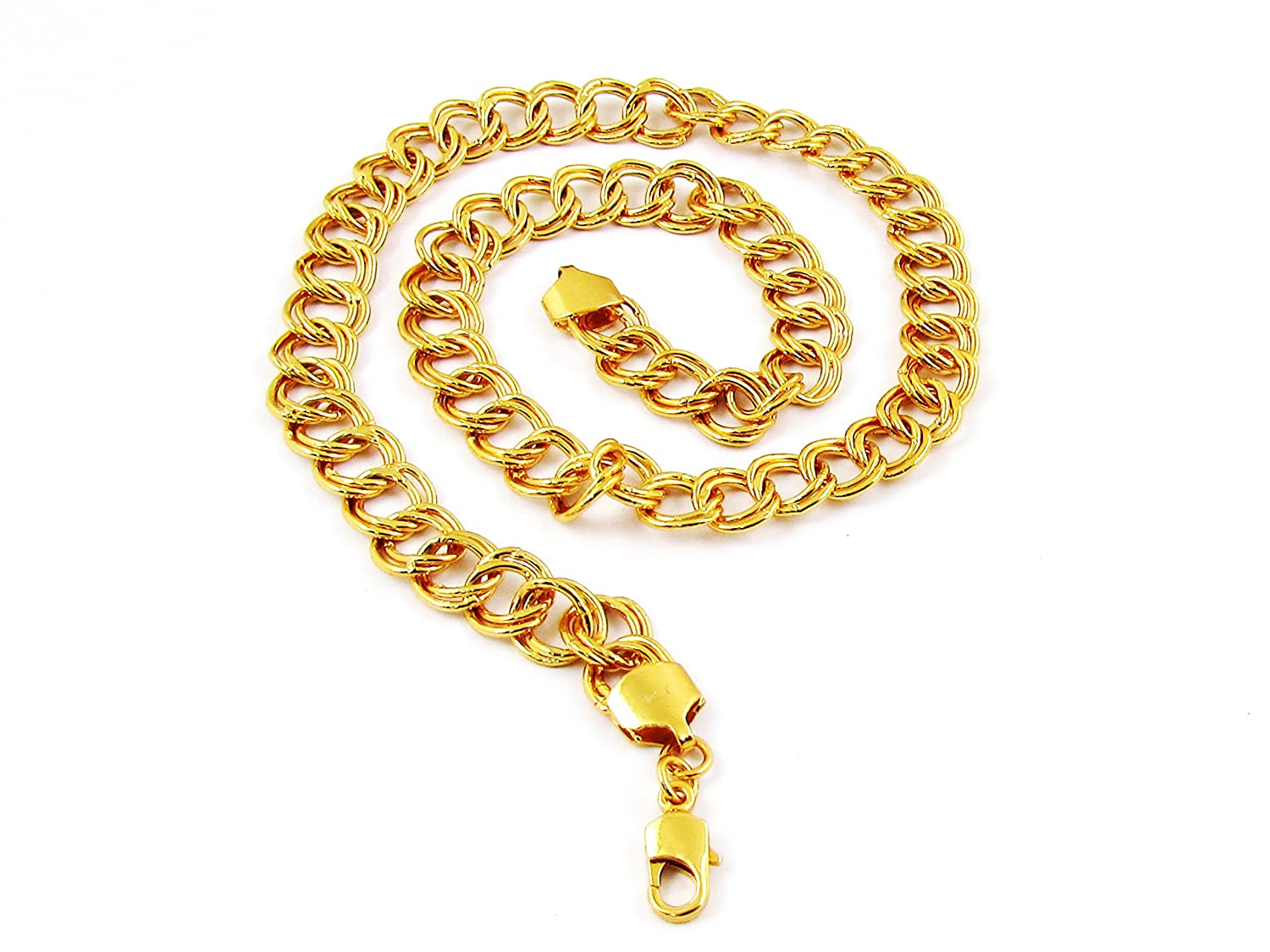 b1aba00359a3d Buy gemshop Factorywala Gold Alloy Necklace Chain for Men Online at Low  Prices in India