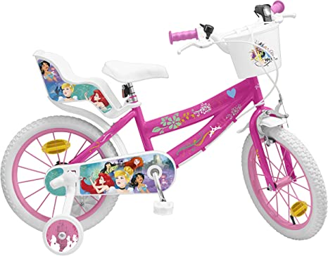 Pik & Roll Princesa Bicicleta niña – 16