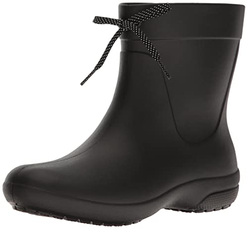 f8fbae1b4cc8fc Crocs Women s Freesail Shorty Rainboot Rain Boot Black 4 ...