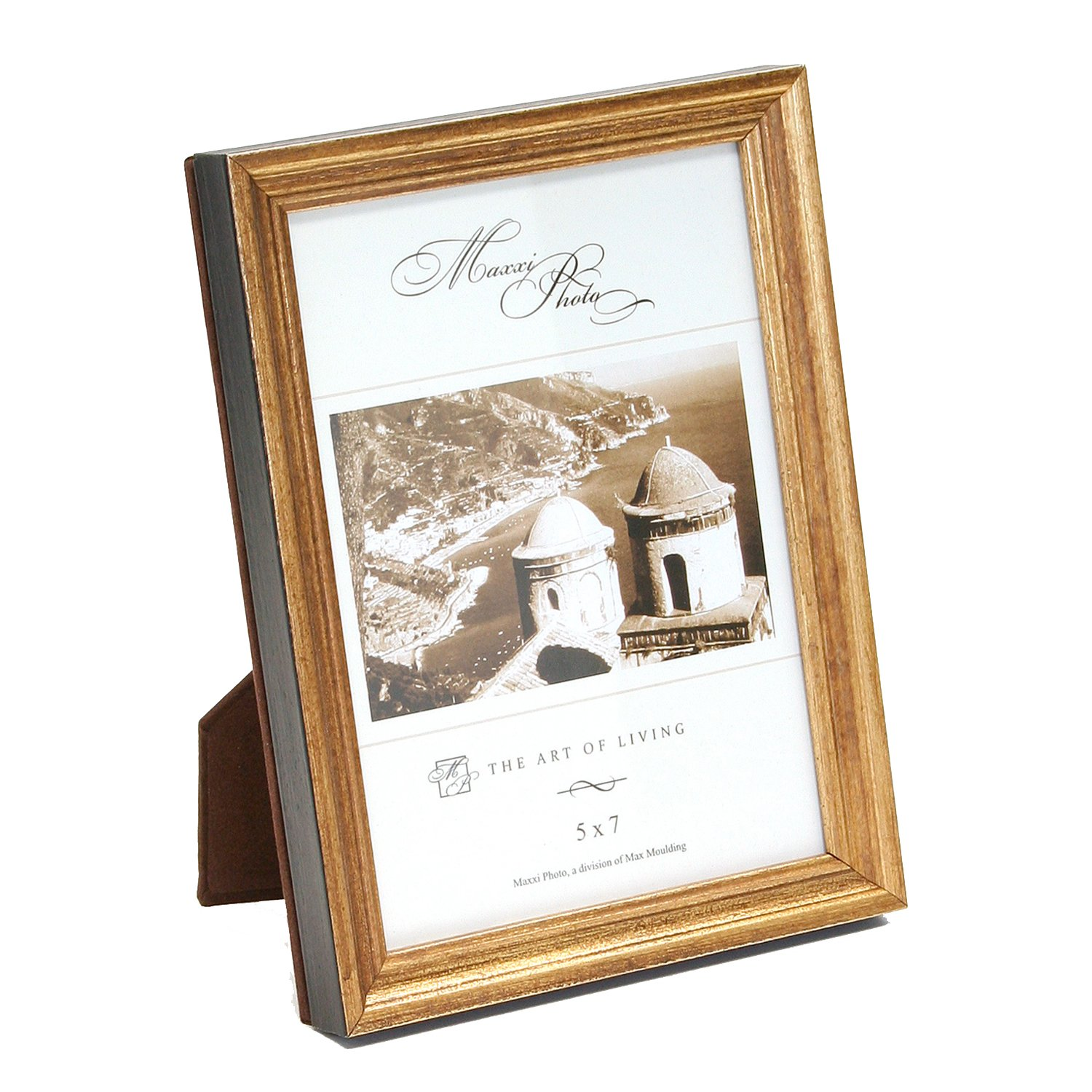Maxxi Designs Photo Frame with Easel Back, 5 x