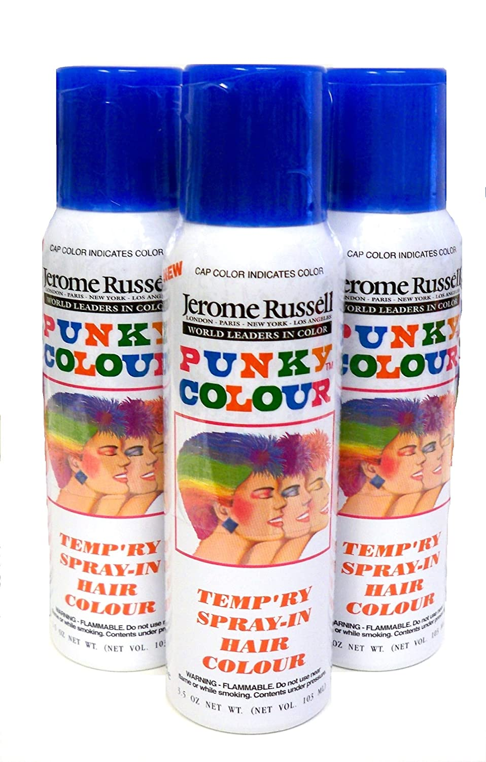 30off Jerome Russell Temporary Hair Color Spray Shampoos Out