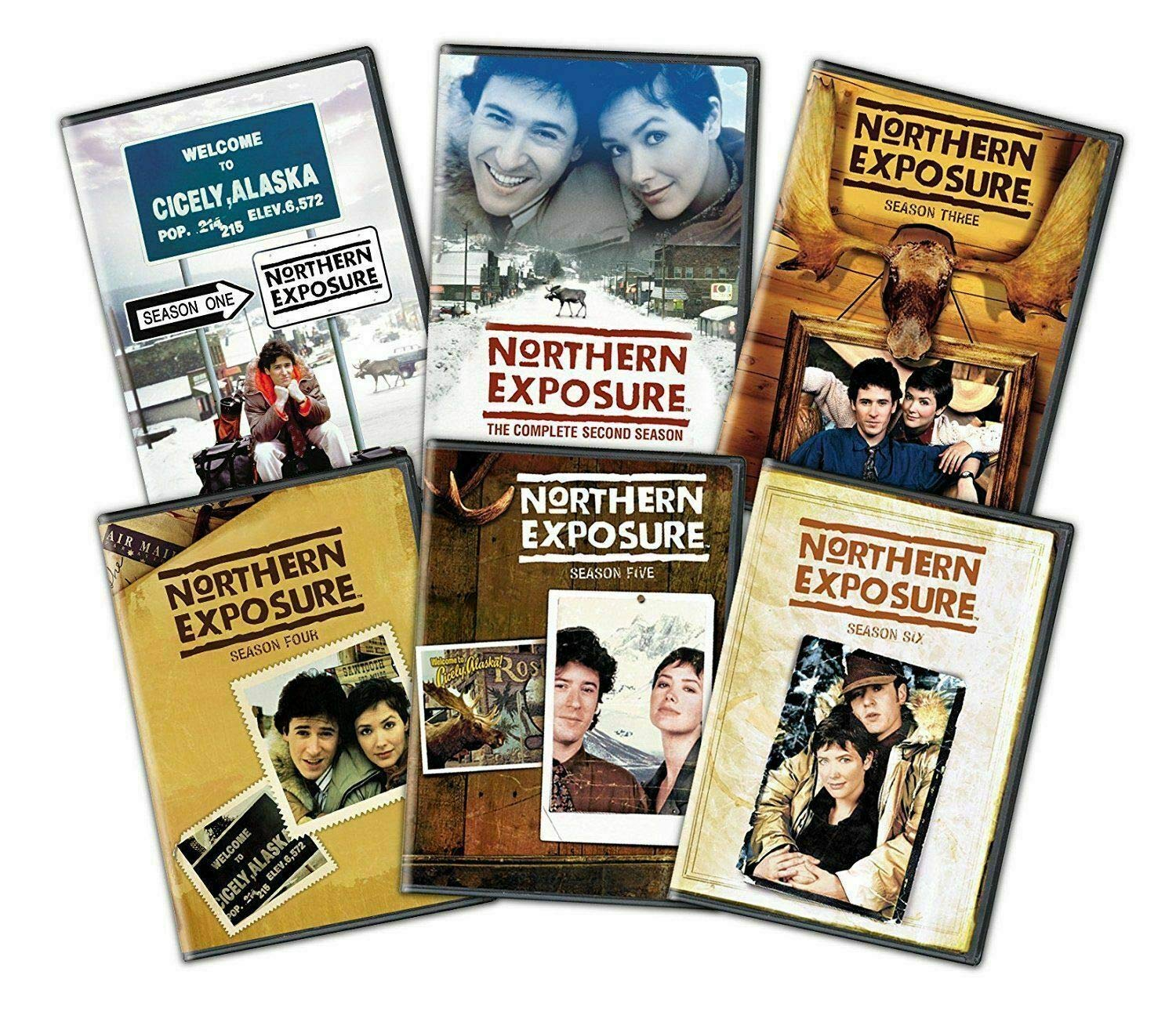 Northern Exposure Complete Series Seasons 1-6 DVD Set New