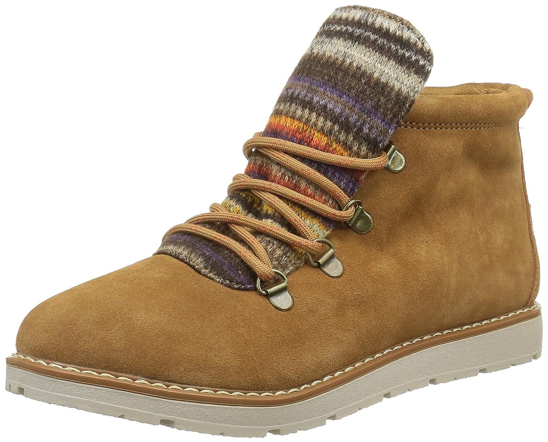 Skechers BOBS from Women's Bobs Alpine-S'Mores Ankle Bootie B01DZ62170 8.5 B(M) US Chestnut