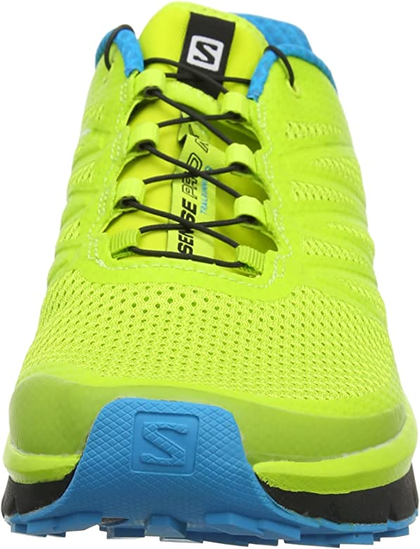 Salomon Sense Pro MAX, Zapatillas de Trail Running para Hombre, Amarillo (Amarillo/(Lime Punch./Black/Hawaiian Ocean) 000), 40 2/3 EU: Amazon.es: Zapatos y complementos