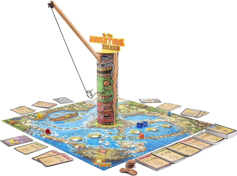 Juego de Mesa Tiki Toss Adventure Island: Amazon.es: Juguetes y juegos