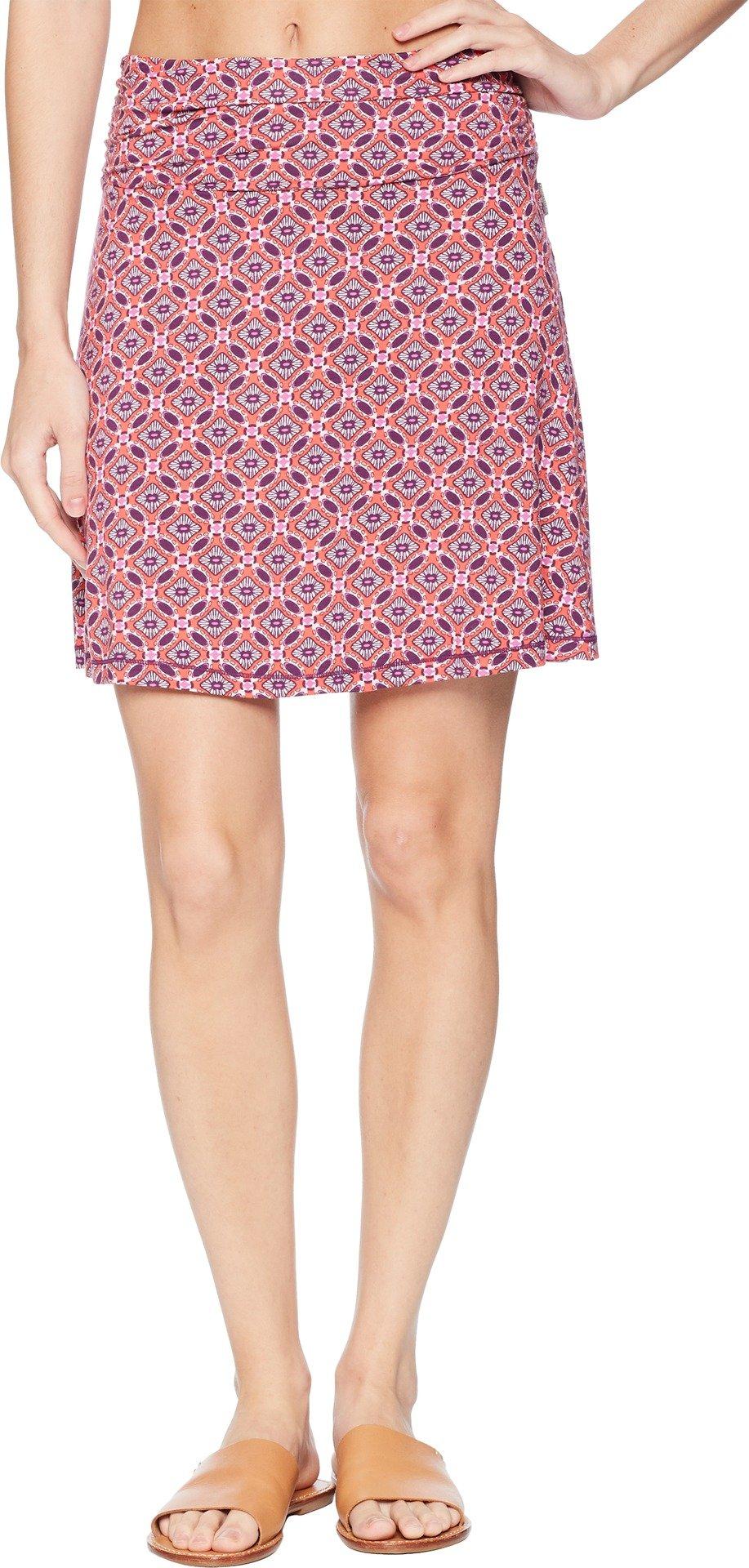 White Sierra Women's Tangier Mosaic Skirt, Watermelon, Medium