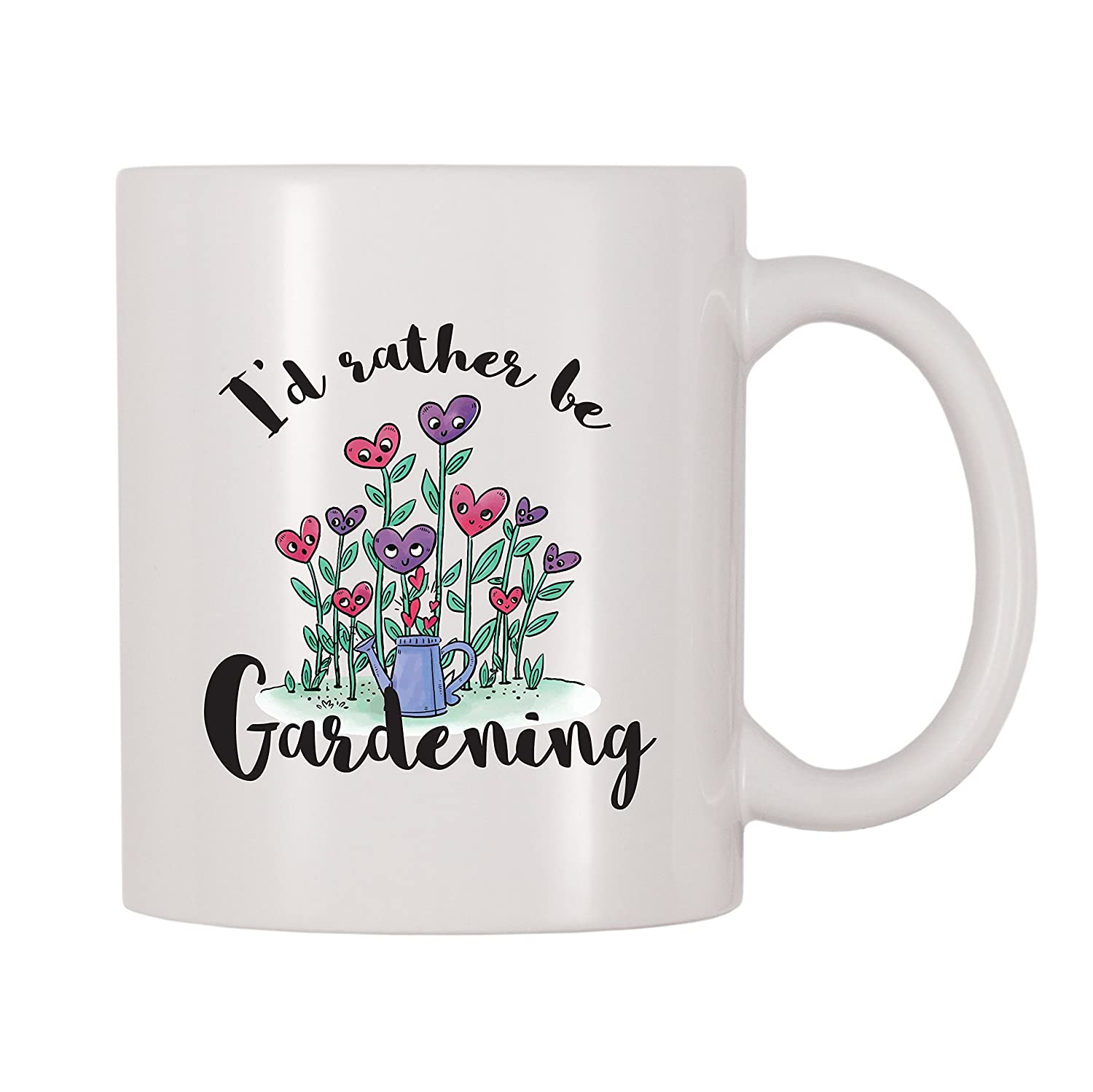 4 All Times I'd Rather Be Gardening Coffee Mug (11 oz)