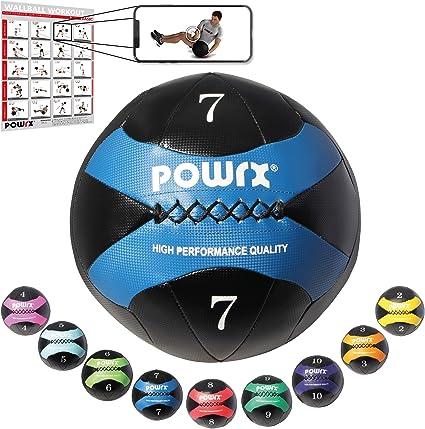 C.P Sports Balle m/édicale en Caoutchouc de Couleur 1 kg 1,5 kg 2 kg 3 kg 4 kg 5 kg 6 kg 7 kg 8 kg 9 kg 10 kg 12 kg