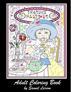 Amazon Whimsical Cute Animals Coloring Book