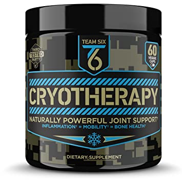 T6 Cryotherapy - Natural Joint Support Supplement   Arthritis Pain Relief,  Anti Inflammatory