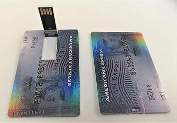 Llave USB, tamaño de Tarjeta de Crédito (32GB), USB 2.0 ...