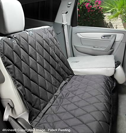 4Knines Dog Seat Cover With Hammock For Fold Down Rear Bench SEAT 60 40 Split