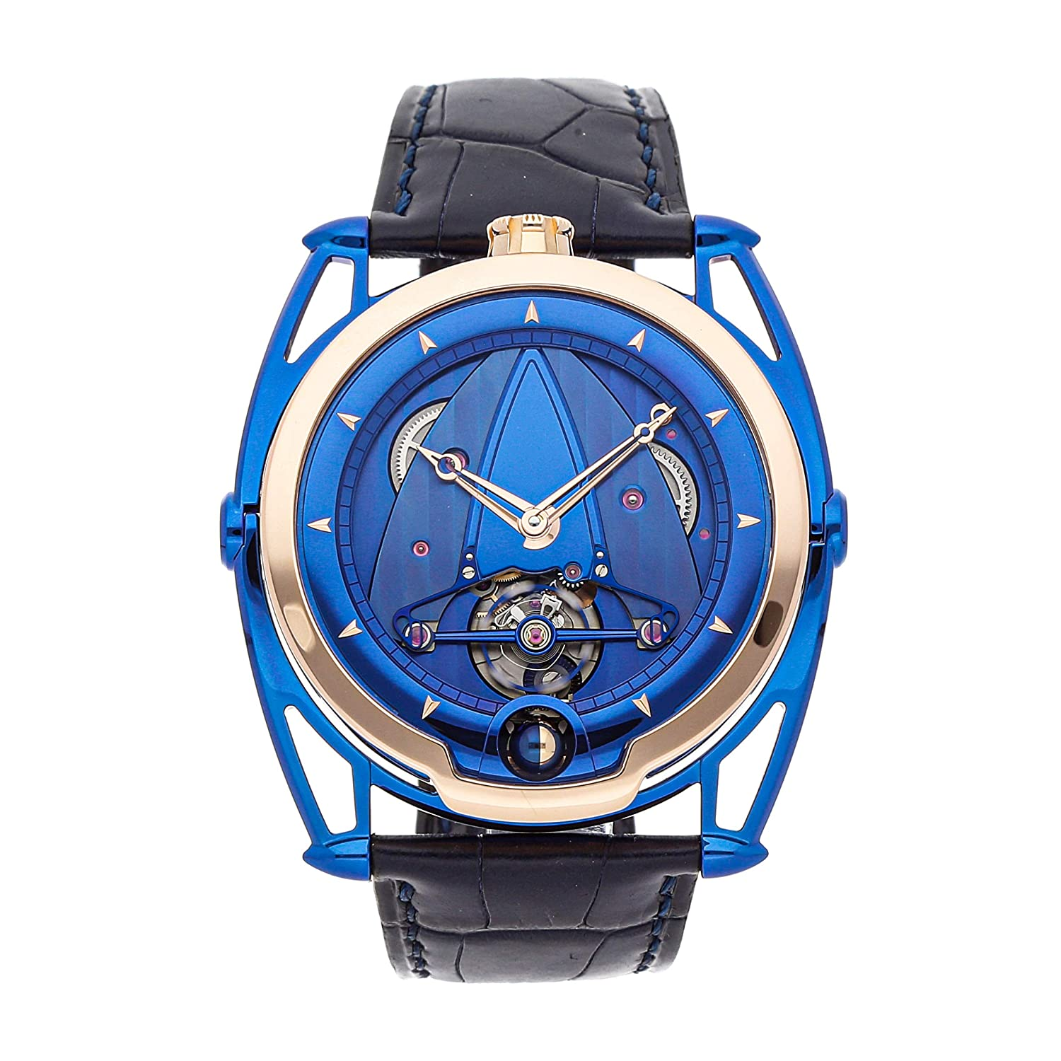 De Bethune Kind of Blue Mechanical (Hand-Winding) Blue Dial Mens Watch DB28BRUS (Certified Pre-Owned)
