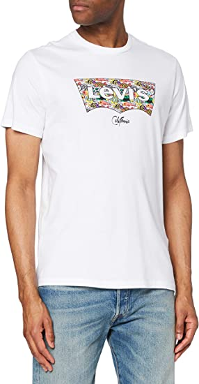 TALLA L. Levi's Housemark Graphic tee Camiseta para Hombre
